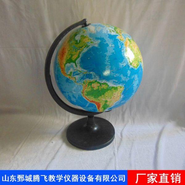 平面地形地球仪